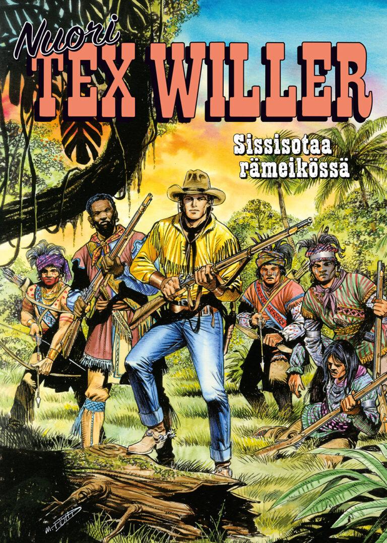 Nuori Tex Willer 10-2021